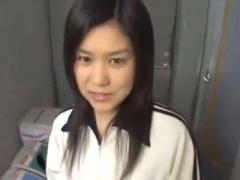 無修正素人個人撮影 どっかの清純アイドルみたいに激カワ清楚な一般JK彼女...