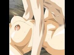 無修正 アニメ 無修正 美乳美女との超激しい濃厚3Pエロアニメ!