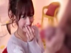 元国民的スーパーアイドルの爆笑記者会見付きw巨乳美女がデカチンをフェラ...