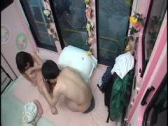 フリル付きの清楚な洋服美女を痴漢w マジックミラー号 MM号動画
