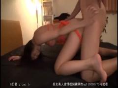 ショートカット美女 湊莉久ちゃんが亀甲縛りされて、正常位&バックから強...
