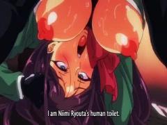 エロアニメ ムチムチボディーの女子校生たちが、肉便器として毎日欠かさず...