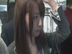 通勤バスの中でレイプ痴漢されるOL動画