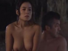 濡れ場 倍○美津子 露天風呂で巨乳を揉まれてハァハァしちゃう濡れ場動画