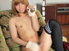 ニューハーフ 容姿端麗で超逸材な18歳男の娘がAVデビュー!