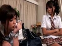 桜りお+さとう遥希 溺愛する妹を狙う悪い虫は全てふり払い濃厚レズプレイ...