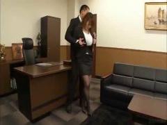 何で秘書に雇ったか分かってる?秘書にした爆乳娘を心いくまで堪能しきる