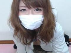 ライブチャット めちゃくちゃ可愛い美巨乳おっぱいギャル系美少女M字開脚...