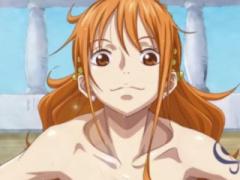 エロアニメ ワンピースナミ! 巨乳人気マンガ最高のバック挿入でマンコ感じ...