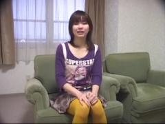地味系女子のセンズリ鑑賞&フェラからやっぱりセンズリ鑑賞で顔射! ! !