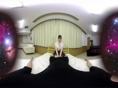 VR! おっぱい丸出しで迫る淫乱制服JKとヤッちゃう! ガンガングラインドし...