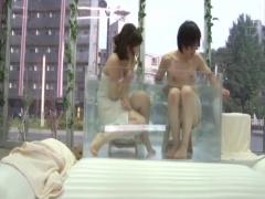マジックミラー号 あぁぁぁ! イクイクぅぅぅ! 混浴体験でムラムラしちゃた...