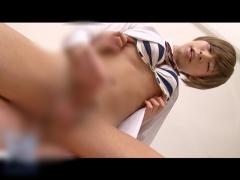 男の娘 レズビアン 女子校生の制服姿の男の娘同士で放課後の教室で下半身の見せ合い! お互いの勃起したペニクリに興奮してそのままレズビアンセックスでメスイキしちゃう動画
