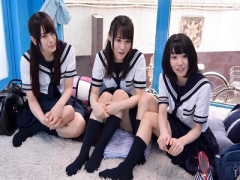 マジックミラー号 激カワ女子校生の可愛い美人JKとMM号 美少女な女子校生...