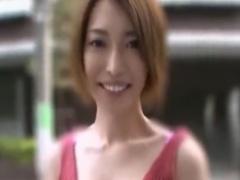 素人M男を手コキフェラチオ攻めする巨乳痴女動画