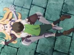 クイーンズブレイド おっぱい丸出しなエロシーンありの一般エロアニメ!