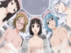 エロアニメ 一般アニメ 温泉からラッキースケベまでハーレムってやっぱり...