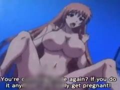 エロアニメ 巨乳のパイパン処女お姉さんと中出しセックス