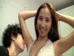 素人 日本のAV男優 ムータン、韓国に遠征して25歳の巨乳コリアン美女とガ...