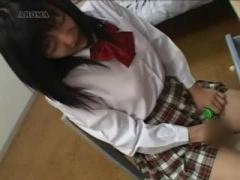 JKオナニー こんなに真面目そうな女子校生が勉強の合間にオナニーしちゃう...