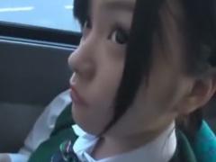 大人しそうなJKにバスでがっつり手マン痴漢動画