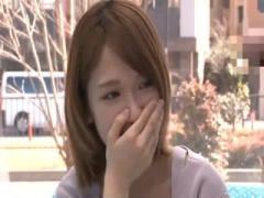 素人女性を演じる椎名そらちゃんが素人男性をセンズリ鑑賞wwwwww マジック...