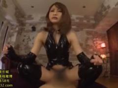 ボンデージ痴女がM男と濃厚セックス&強制クンニ!