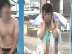マジックミラー号 MM号 海水浴に来てた大学生サークルの男女で素股マッサージ