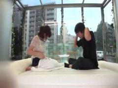 綺麗なお姉さんと混浴プレイで興奮の男性www マジックミラー号 MM号動画