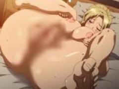 エロアニメ 幼なじみ母を想ってオナってたら本人登場→まさかのラッキーセ...