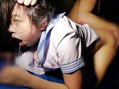 JK×レイプ 鬼畜集団に連続中出し輪姦されるお嬢様学校の女子校生! 強姦後...