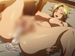 エロアニメ 膣内射精された感触をじっくり感じて味わう巨乳美女から大量精...