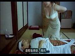 夜明けの牛 未亡人になった息子の嫁とセックスをする痴呆症の義父