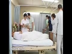 美人ナースが入院患者さんたちの肉便器になってしまう