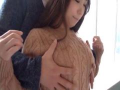 色白ぽちゃムチ巨乳彼女とラブラブセックスデート