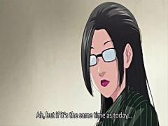 エロアニメ 熟女教師を生徒が盗み撮りしていたらバレちゃったので先生が責...