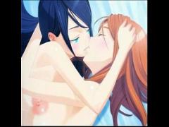 エロアニメ 可愛い美少女たちが柔らかそうに巨乳を揺らしてエッチしちゃう...