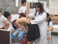 泣き出す女子校生を押さえつけアナルまで丸見え診察の鬼畜健康診断www