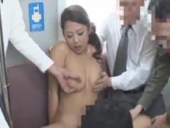 バスで集団でレイプ痴漢される巨乳お姉さん動画