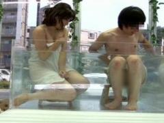 マジックミラー号 大学生の男女の友情は成立するのか都会の真ん中で混浴さ...
