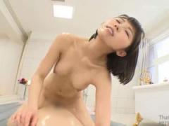童顔痴女ソープ嬢がローションマットプレイセックス!