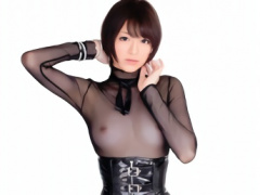 長身モデル体型 178cm ショートカット激カワ美少女との濃密セックス! !