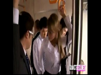 ミア キャメロン 北欧出身の白人ギャルが日本の満員電車で集団痴漢の餌食...