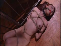 強制女体化収容所 ニューハーフ アナルマゾ娼婦 女体化させられ緊縛、蝋燭...