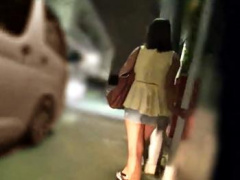 レイプ 夜道を歩く美人OLを尾行し人気の無い所で相方の車で拉致! 部屋に連...