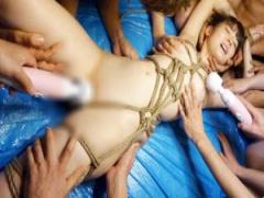 緊縛されたミニマム美少女 琴音さらが裸身を嬲る電マ責めに悶絶昇天