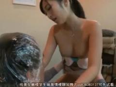 痴女美容師がカラー中にこっそり濃厚セックス! 水川スミレ