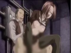 エロアニメ 先生に凌辱されまくってるセーラー服メガネ女子校生は黙って耐...