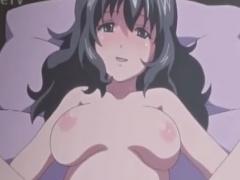 パイパン娘とイチャラブなセックスのエロアニメ