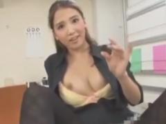 OL痴女の超絶手コキぜめで強制射精させられるM男動画